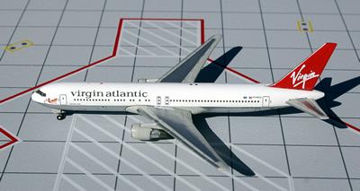 Virgin Atlantic B767-300 Old Colors 1:500 Scale: www.JetCollector.com