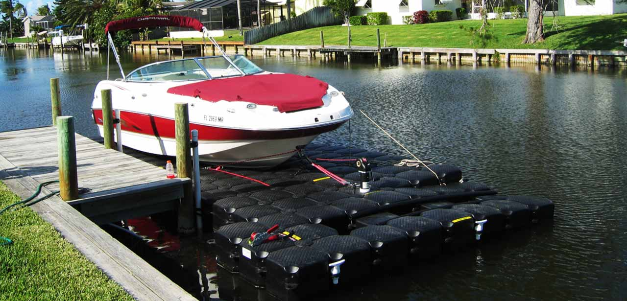 Dinghy Floating Lift Dock