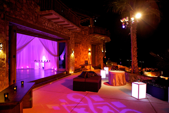 Modern Party Amp Reception In Cabo San Lucas Mexico The