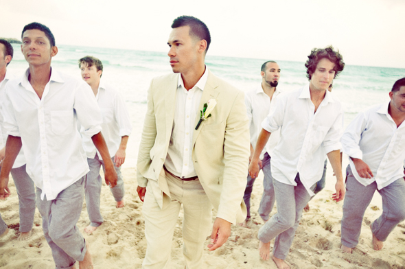 Destiation Wedding in Puerto Morelos Mexico  The