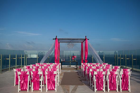 Beach Wedding in Cancun Mexico  The Destination Wedding