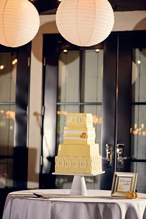 amarelo bolos de casamento Viceroy Palm Springs casamento do destino