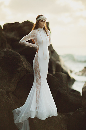 Destination Wedding Dresses Fashion Shoot in Hawaii  The Destination Wedding Blog  Jet Fete by