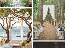 Outdoor Wedding Ceremony Under a Tree - The Destination ...