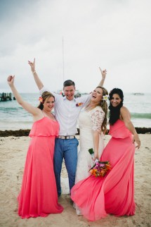 Tropical Punta Cana Dominican Republic Beach Wedding