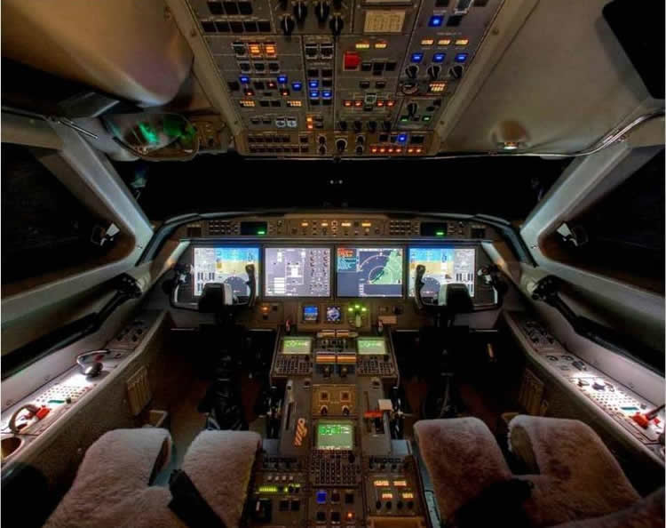Upgrade Cockpit Upgrade For Gulfstream G300 And G400