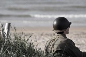 Utah Beach in Normandy