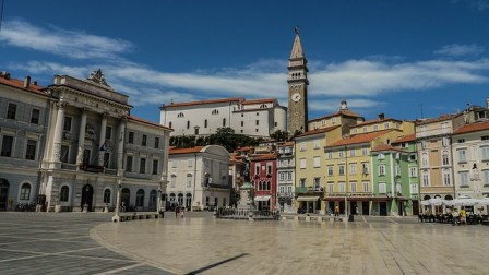 Beautiful sights and charming villages in Slovenia