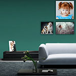 JetMaster Photo Wrap: Wall or Table Top Display