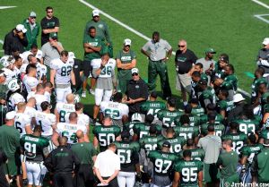 Green and White Scrimmage