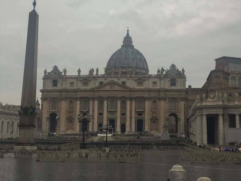 St. Peters Church in Rome Italy