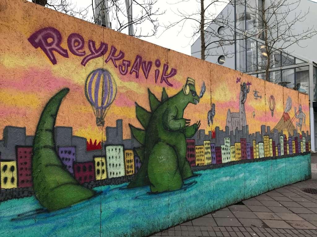 Wall Art in Reykjavik