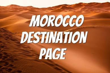Morocco Destination Page
