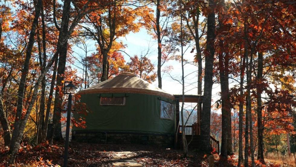 Sky Ridge Yurts (photo: Sky Ridge Yurts)
