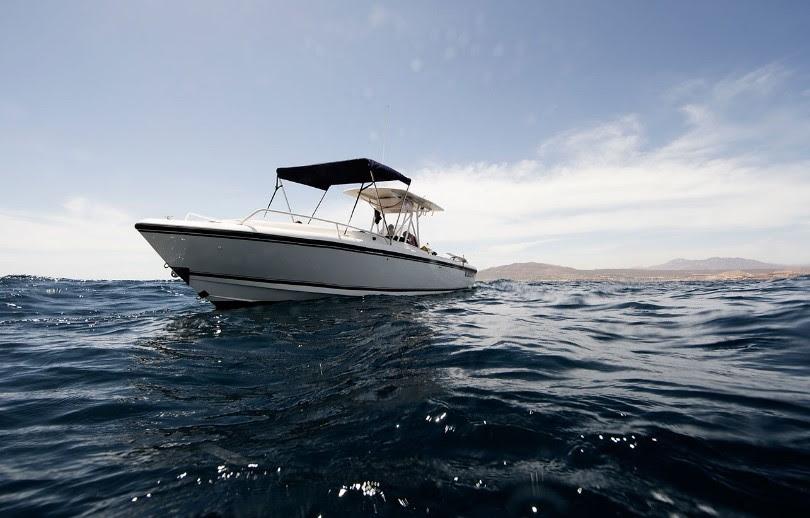boat in Los Cabos, Mexico