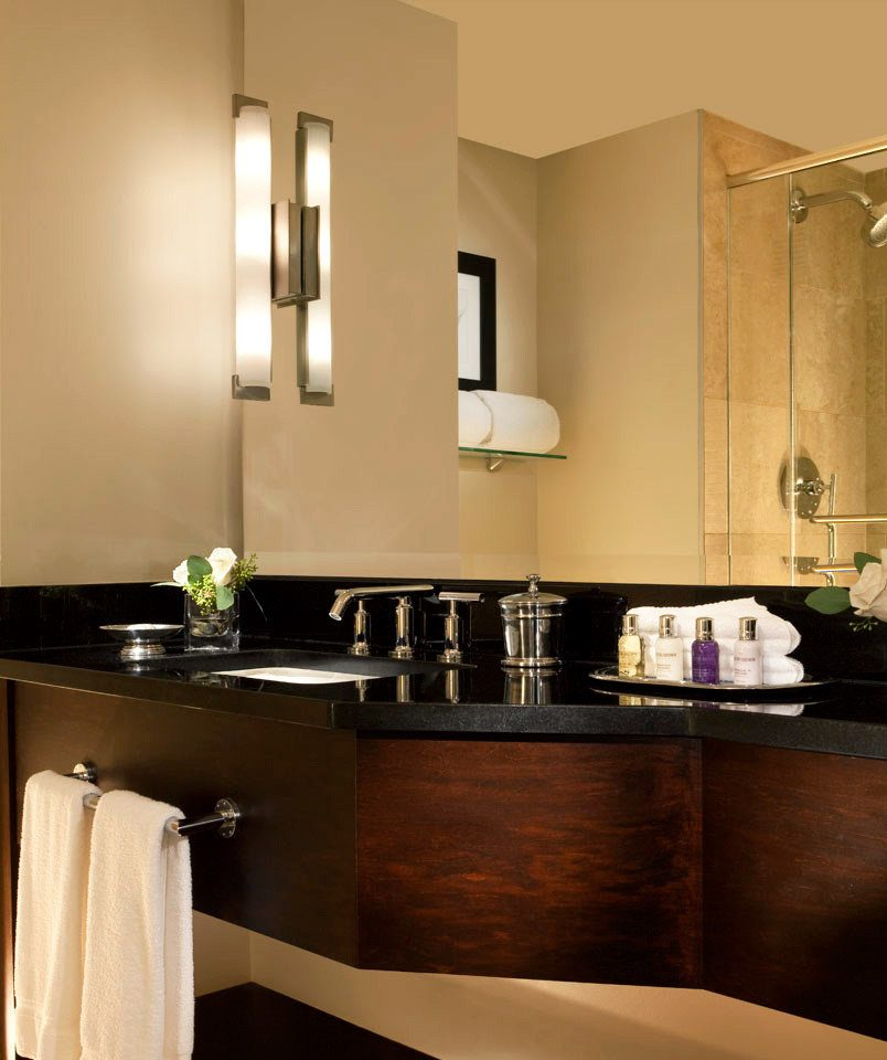 hotels with kitchens in atlanta ga country kitchen faucets the ellis hotel on peachtree jetsetter bath luxury bathroom mirror sink cabinetry home countertop lighting towel vanity suite modern fancy