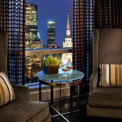 Living Room Boston Modern Black Leather Sofa Kimpton Nine Zero Hotel Ma Jetsetter Condominium Home Lighting