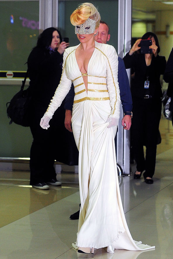 Gaga-Airport-presentation is everything