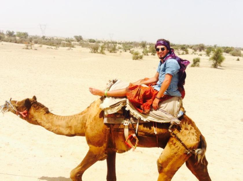 Gilles-Jetsetter Problems-Ride a camel like a badass 2