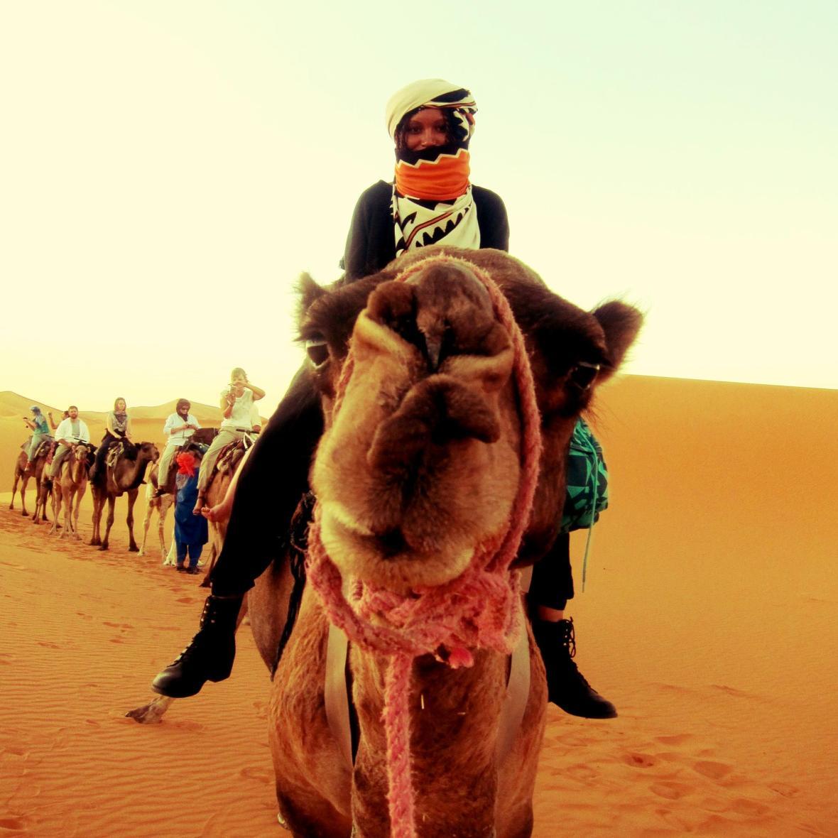 Khadijat Oseni-Ride A Camel-Jetsetterproblems.com