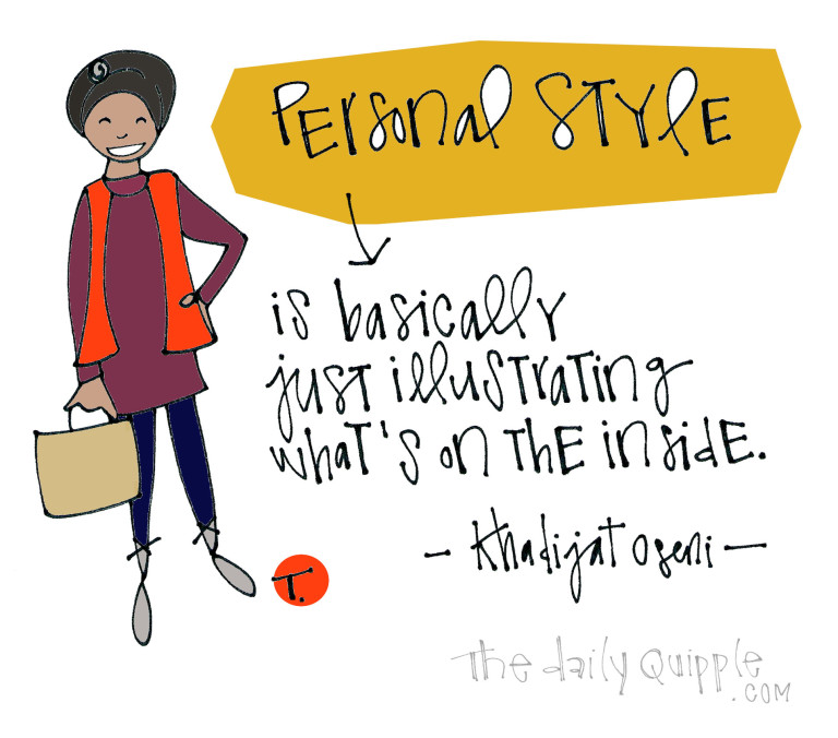 KO-Personal Style Quote