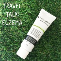 Travel talk – eczema relief with Novapel cream