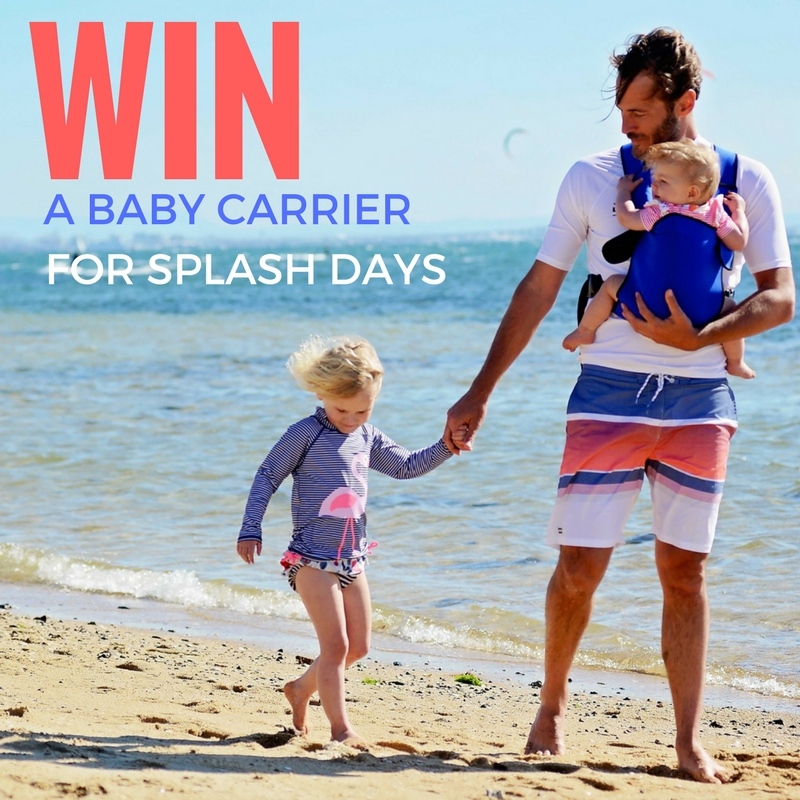 WIN! A Frog Orange Baby Carrier for water babies…