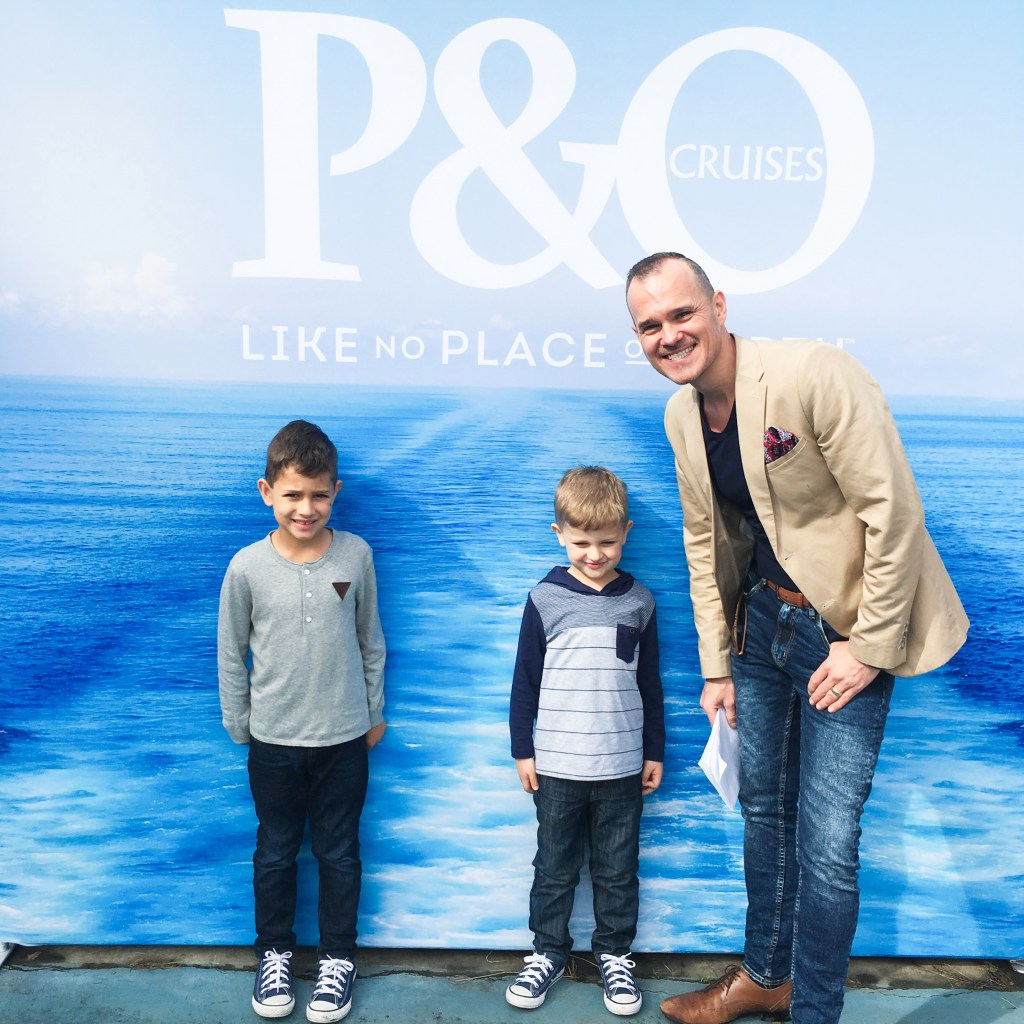 Something BIG is planned for P&O's Pacific Dawn!