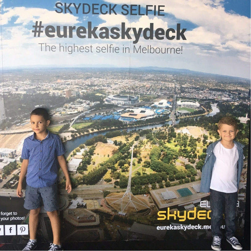 Melbourne from Eureka Skydeck and Edge Experience