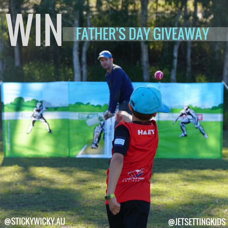 THE ULTIMATE FATHER'S DAY GIVEAWAY FOR CRICKET LOVING FAMILIES