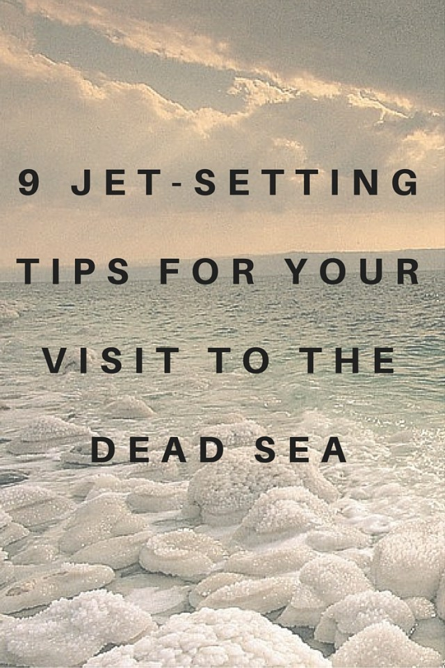 Tips for your visit to the Dead Sea