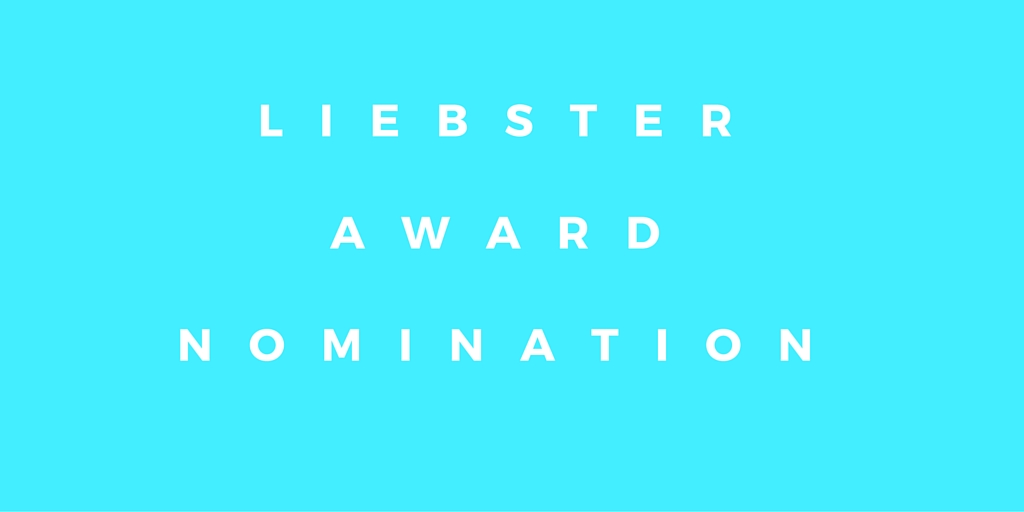 Liebster Blog Award Nomination