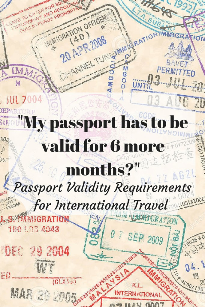 Passport Validity Requirements