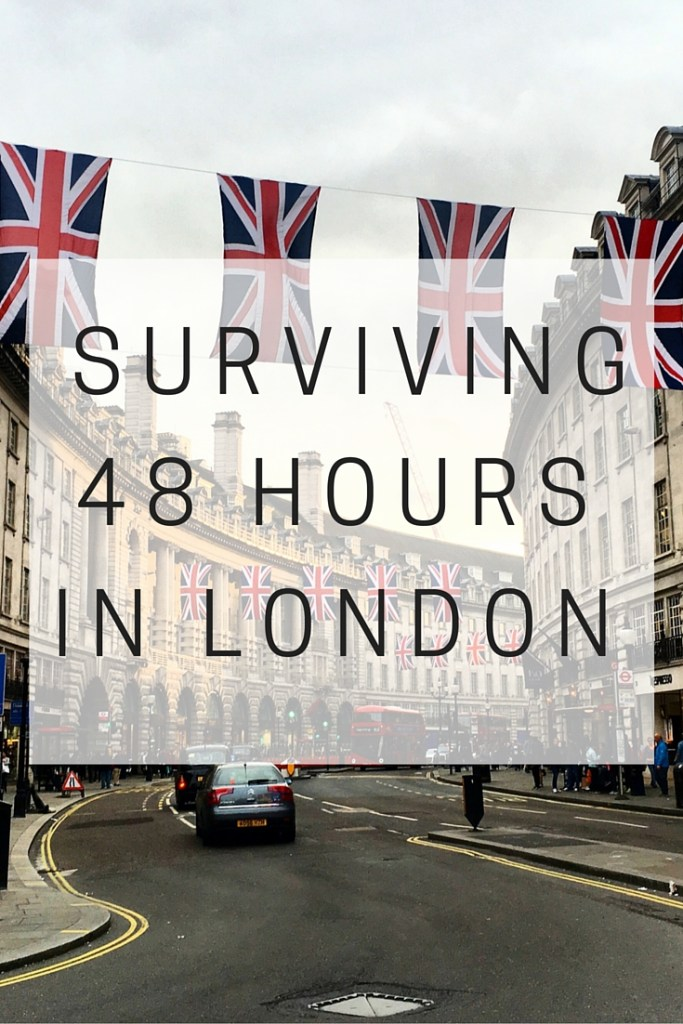 HOW TO SURVIVE 48 HOURS IN LONDON