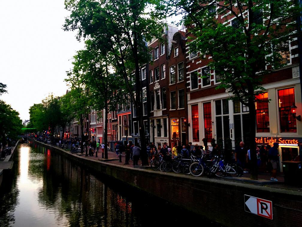 The Girl's Guide to Amsterdam's Red Light District