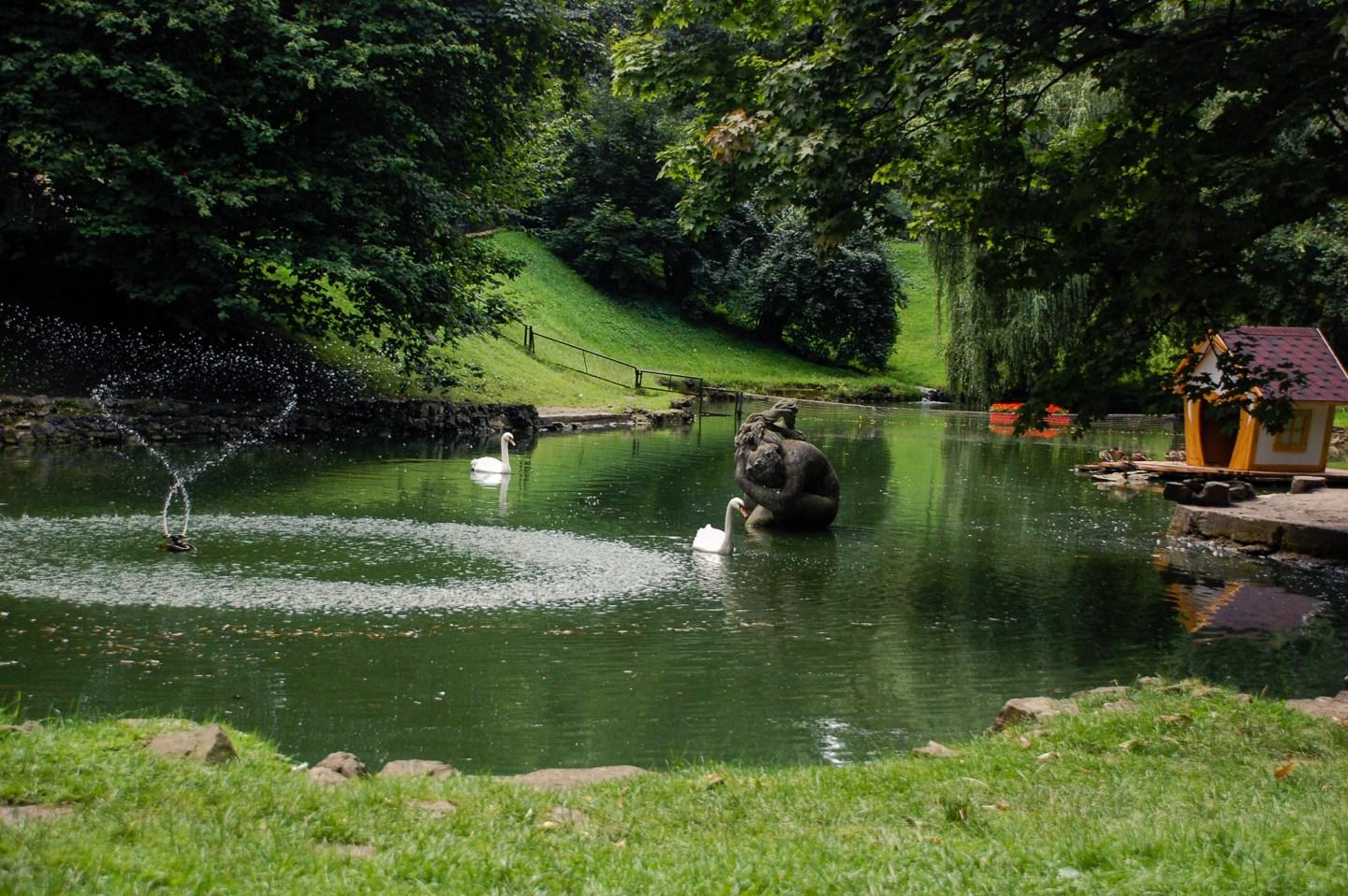 lviv stryiski park