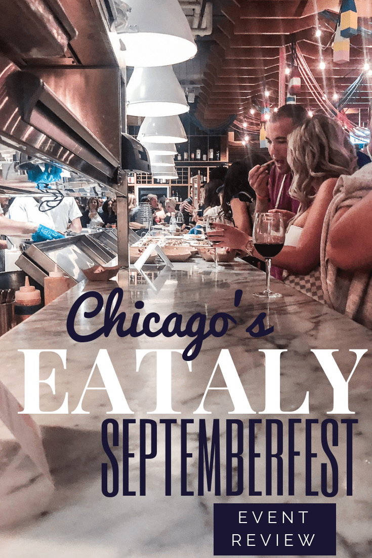 Eataly Septemberfest Chicago | Jet-setting Spirit | Chicago Eataly, Chicago Eats, Chicago Food, Chicago Events | Eataly Chicago