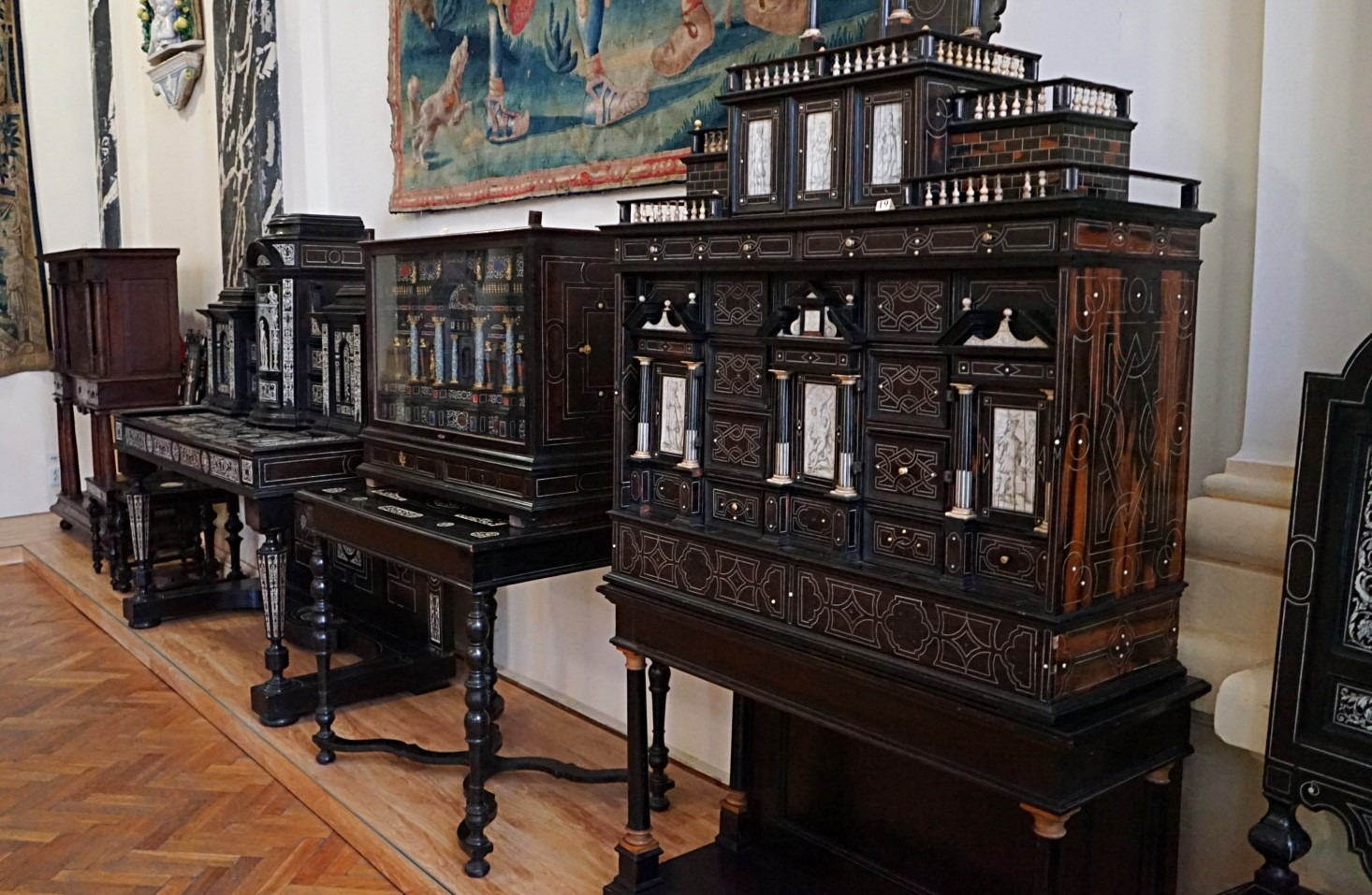 Inside the museum of Ethnography in Lviv