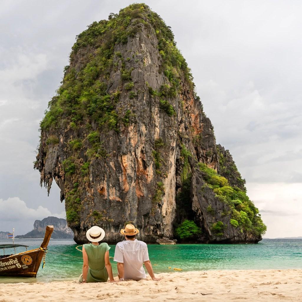 Alona Tiunina and Cody Simon in Krabi, Thailand. Jet Set Together About Me