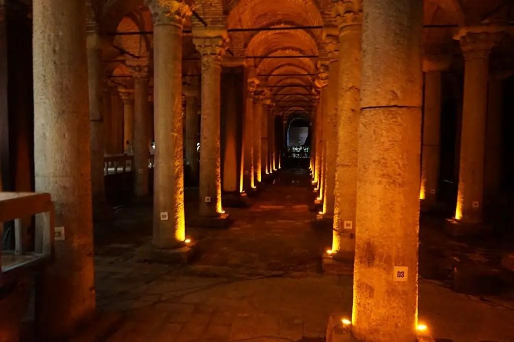 Itinerary for a 14 day Trip Around Turkey: Basilica Cistern