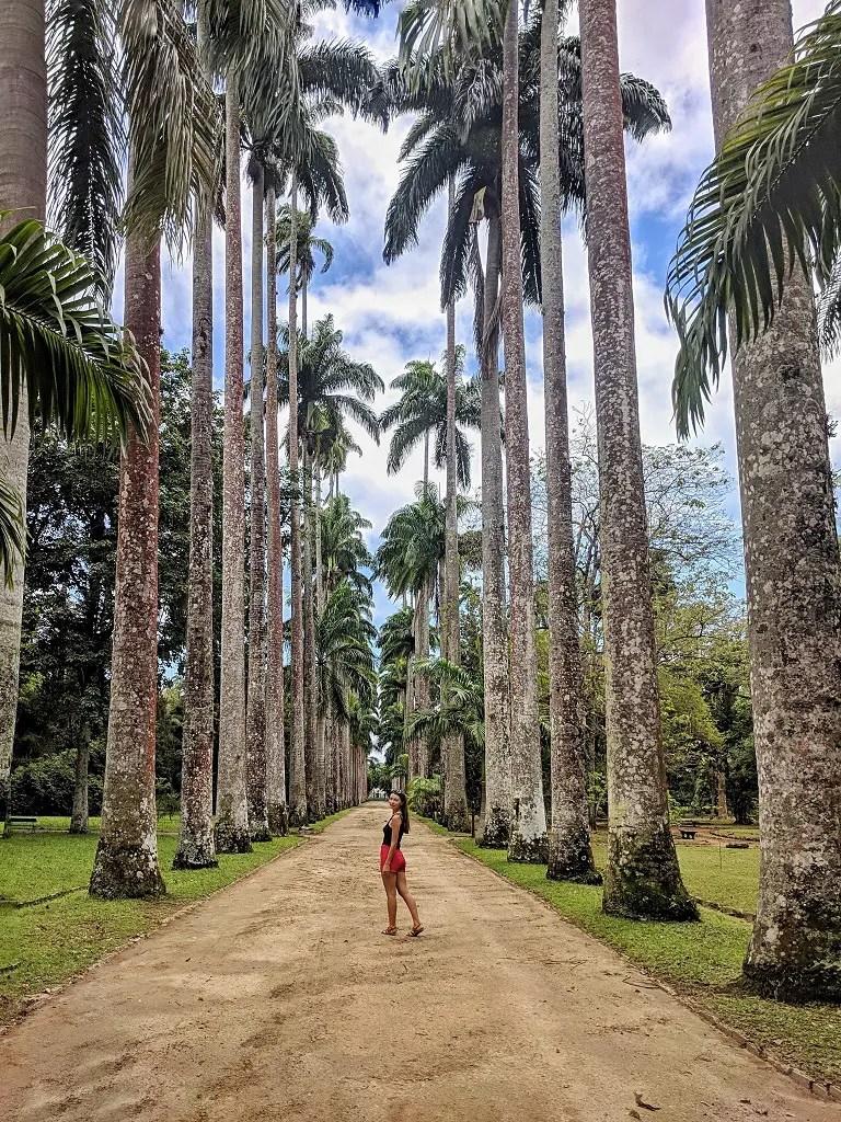 Fun Things To Do In Rio De Janeiro: Alona Tiunina in Jardim Botanico, Rio
