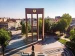 Stepan Bandera statue, Lviv, Ukraine