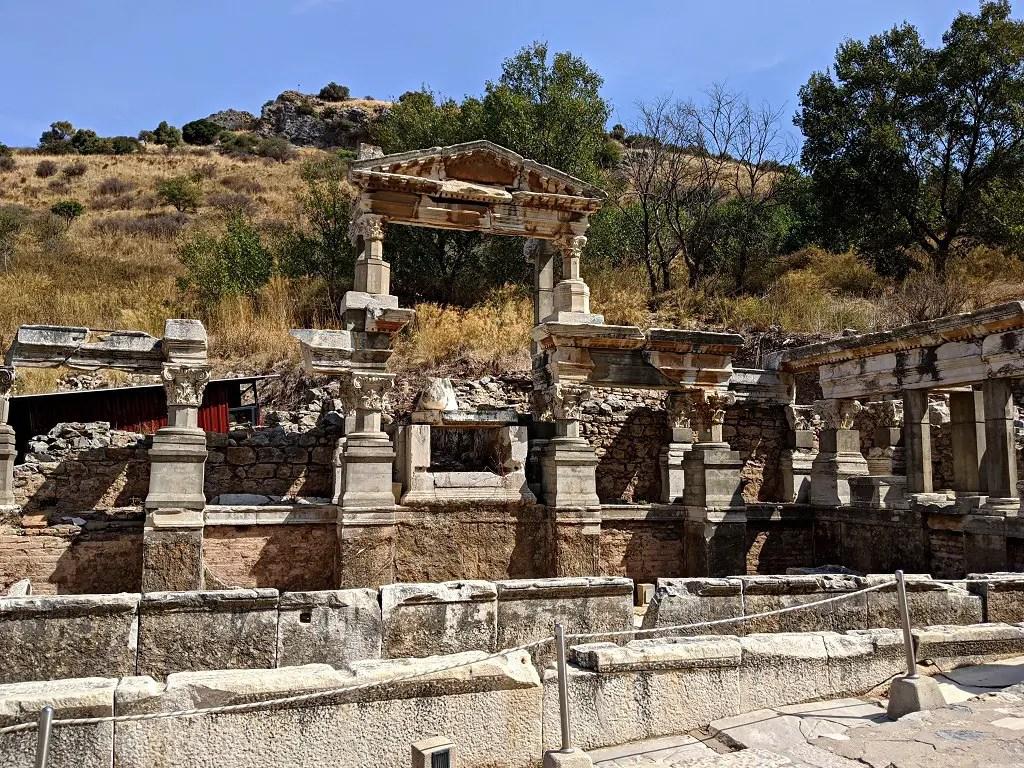 the fountain of Trajan