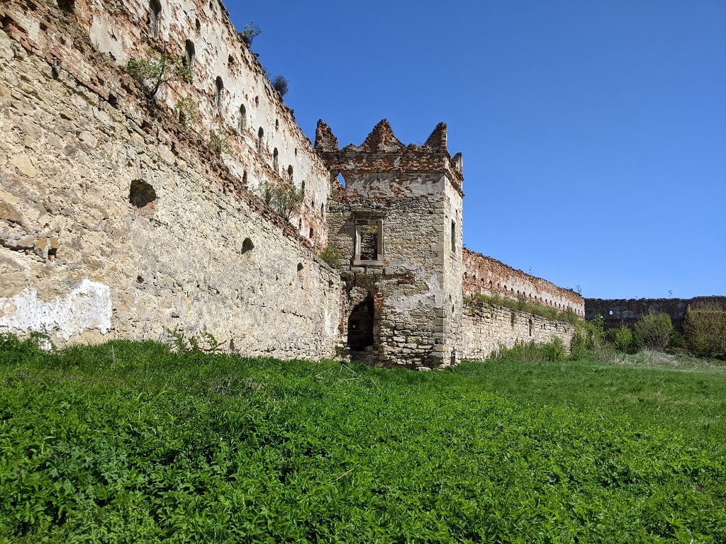 Walls of the castle