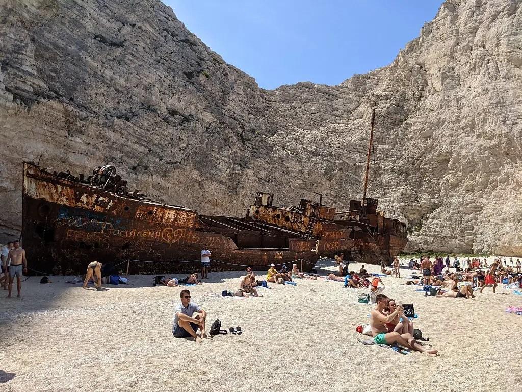Take A Boat Tour From Agios Nikolaos To Shipwreck Beach