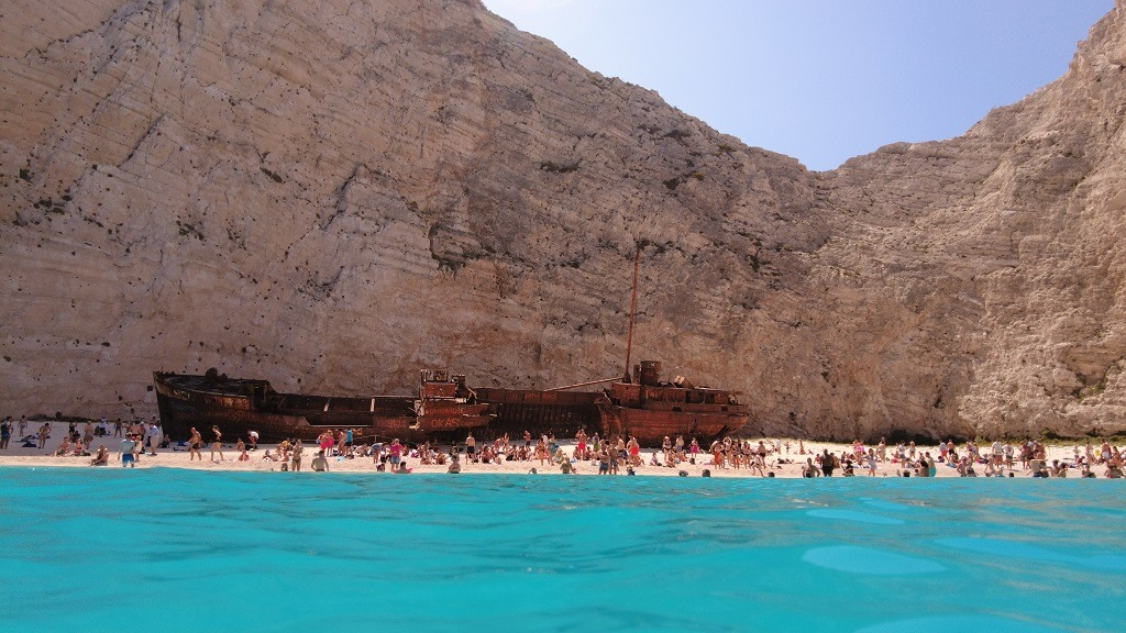 The Complete Guide To Zakynthos, Greece: Shipwreck Beach