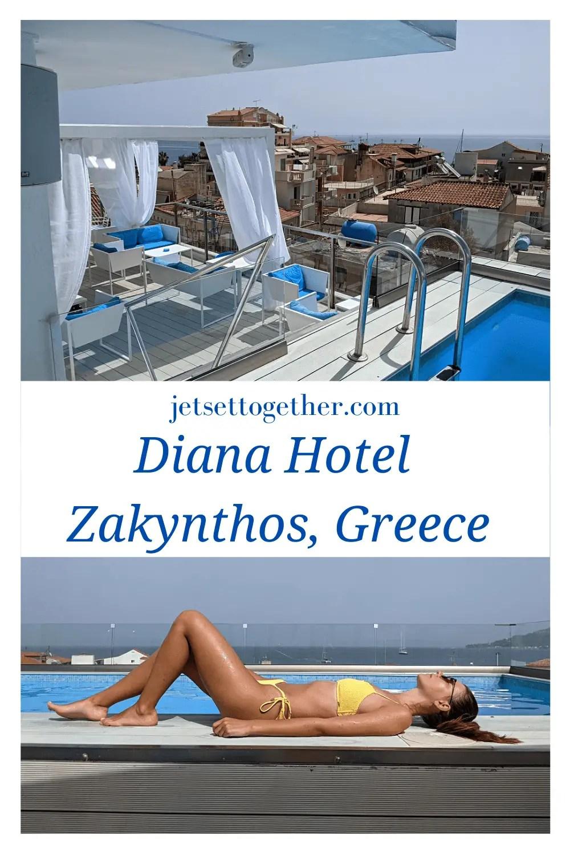 Diana Hotel in Zante Town