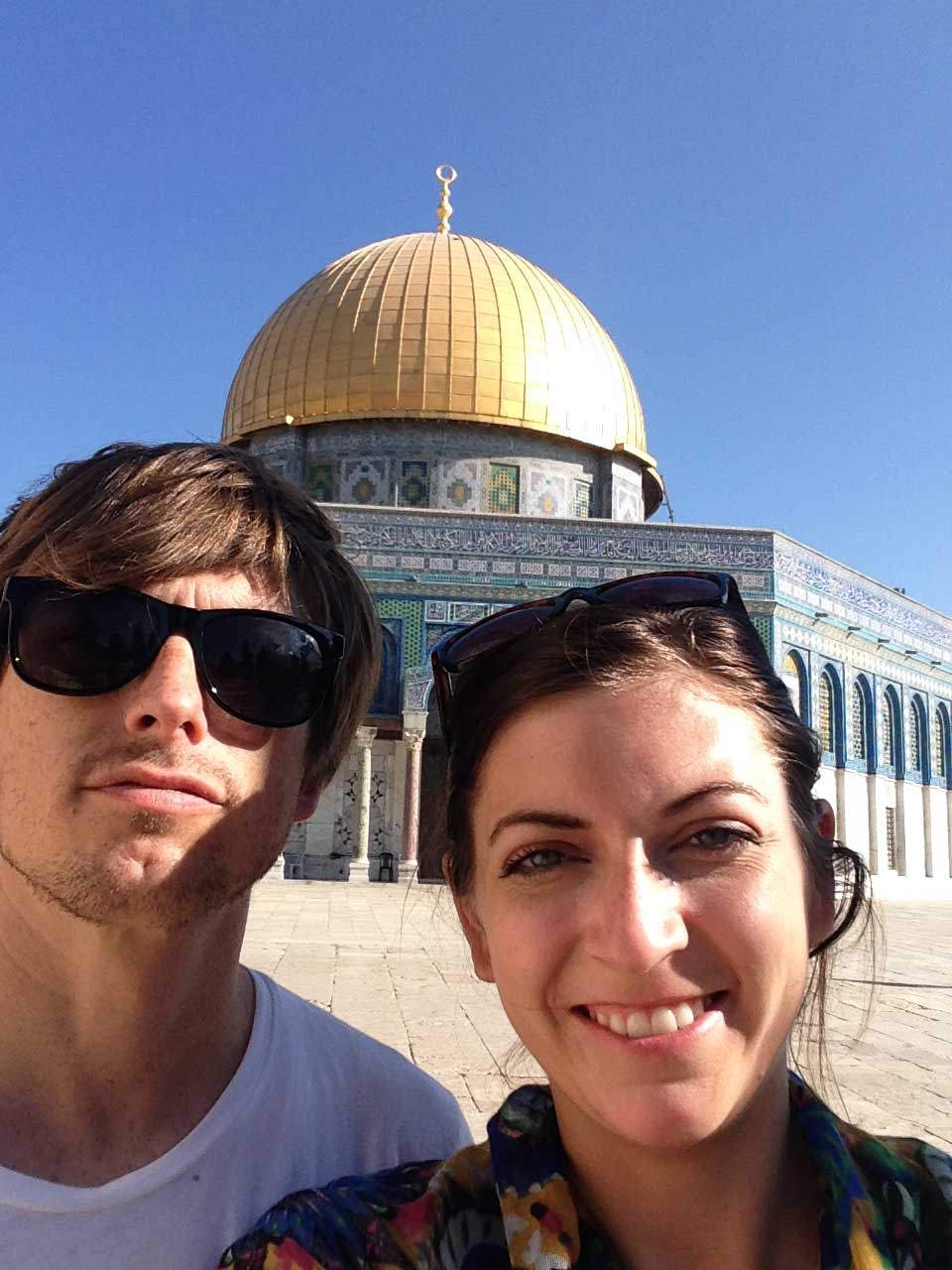 Dome of the Rock Selfie