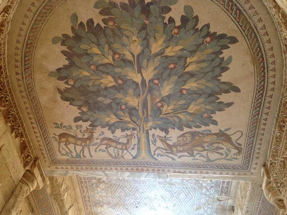 Tree of Life mosiac
