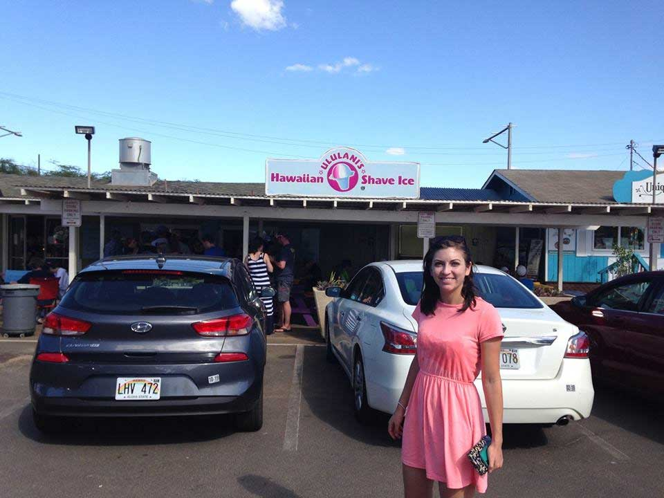 Caitlin at Maui